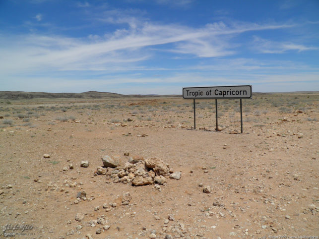 Tropic of Capricorn, Naukluft Park, Namib Desert, Namibia, Africa 2011,travel, photography