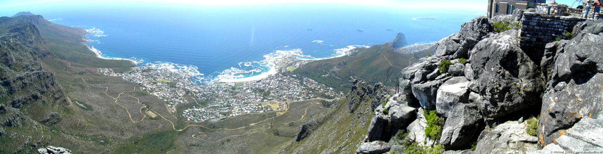Camps Bay panorama Camps Bay, Table Mountain, Cape Town, South Africa, Africa 2011,travel, photography, panoramas