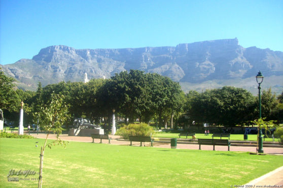 Table Mountain, city park, downtown, Cape Town, South Africa, Africa 2011,travel, photography