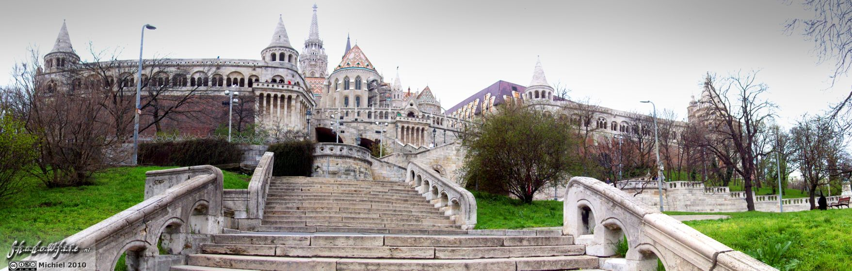 Fishermans Bastion panorama Fishermans Bastion, Budapest, Hungary, Budapest 2010,travel, photography,favorites, panoramas