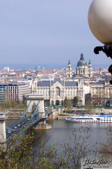 Chain Bridge, Danube river, Budapest, Hungary, Budapest 2010,travel, photography,favorites