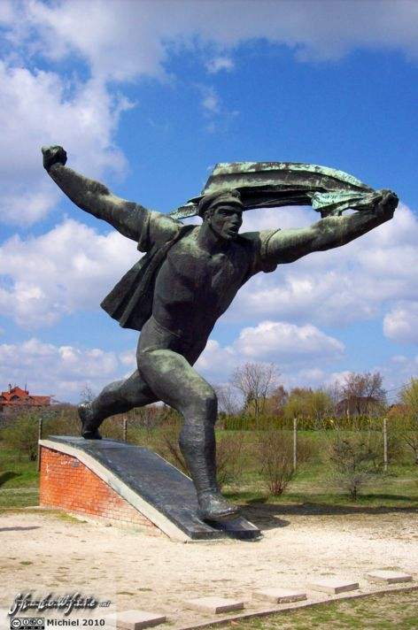 Republic Of Councils Monument, Memento Park, Budapest, Hungary, Budapest 2010,travel, photography,favorites