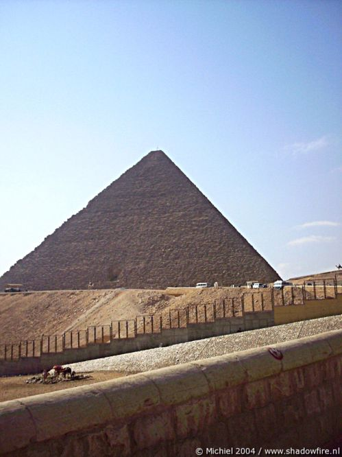 Khufu pyramid, Giza, Egypt 2004,travel, photography