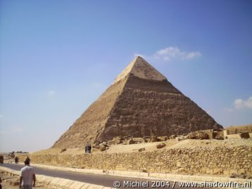Khafre pyramid, Giza, Egypt 2004,travel, photography,favorites