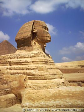 Sphinx, Giza, Egypt 2004,travel, photography,favorites