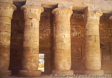 Ramses 3 Temple, Medinat Habu, West Bank, Luxor, Egypt 2004,travel, photography,favorites