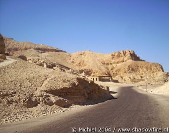 Deir al Medina, West Bank, Luxor, Egypt 2004,travel, photography,favorites