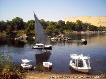 Nile river, Nubian village, Aswan, Egypt 2004,travel, photography,favorites