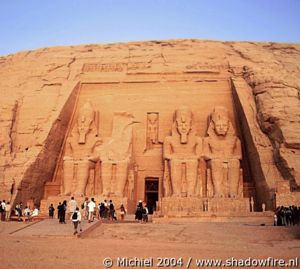 Ramses 2 Temple, Abu Simbel, Egypt 2004,travel, photography