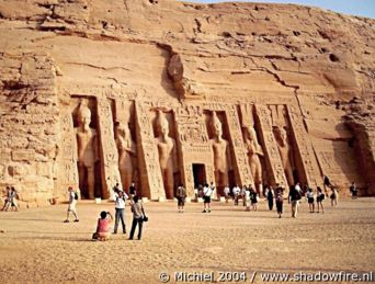 Nefretari Temple, Abu Simbel, Egypt 2004,travel, photography