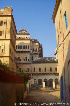 Narayan Niwas castle, Mahansar, Shekhawati, Rajasthan, India, India 2009,travel, photography