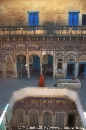 haveli, Ramgarh, Shekhawati, Rajasthan, India, India 2009,travel, photography