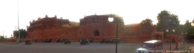 Junagarh fort panorama Junagarh fort, Bikaner, Rajasthan, India, India 2009,travel, photography, panoramas