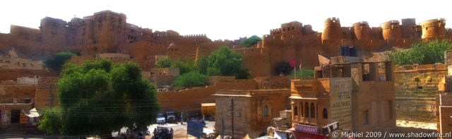 fort panorama fort, Jaisalmer, Rajasthan, India, India 2009,travel, photography, panoramas