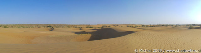 Thar Desert panorama Thar Desert, Rajasthan, India, India 2009,travel, photography,favorites, panoramas