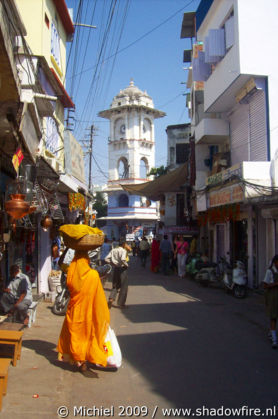 Clock tower, Udaipur, Rajasthan, India, India 2009,travel, photography,favorites