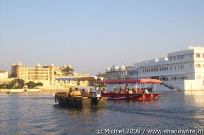 Jagniwas Palace Hotel Island, City Palace, Lake Pichola, Udaipur, Rajasthan, India, India 2009,travel, photography
