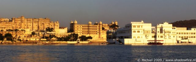 Lake Pichola panorama Lake Pichola, Udaipur, Rajasthan, India, India 2009,travel, photography,favorites, panoramas