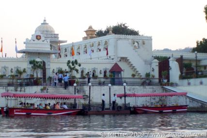 Jagmandir Island, Lake Pichola, Udaipur, Rajasthan, India, India 2009,travel, photography