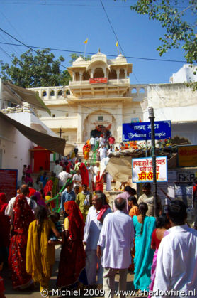 Brahma Hindu temple, Pushkar, Rajasthan, India, India 2009,travel, photography,favorites