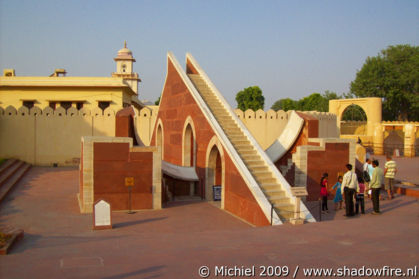 Jantar Mantar astronomic observatory, Jaipur, Rajasthan, India, India 2009,travel, photography