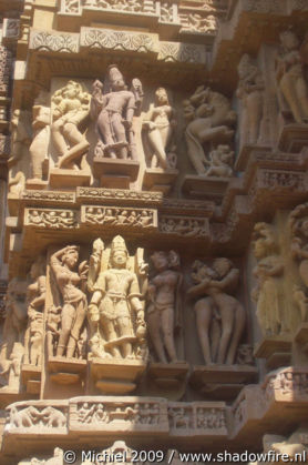 Lakshmana Hindu temple, western group, Khajuraho, Madhya Pradesh, India, India 2009,travel, photography
