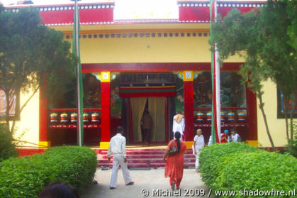 Buddhist temple, Sarnath, Uttar Pradesh, India, India 2009,travel, photography