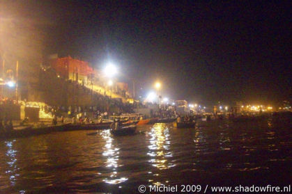 Purnima Kartik Poornima Full moon day, Ganges river, Varanasi, Uttar Pradesh, India, India 2009,travel, photography