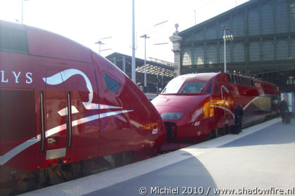 Thalys, Gare du Nord, Paris, France, Paris 2010,travel, photography