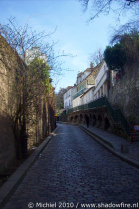 Rue Saint Vincent, Montmartre, Paris, France, Paris 2010,travel, photography