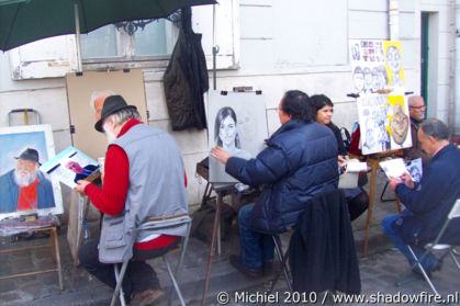 Place du Tertre, Montmartre, Paris, France, Paris 2010,travel, photography