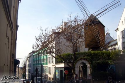 windmill, Montmartre, Paris, France, Paris 2010,travel, photography