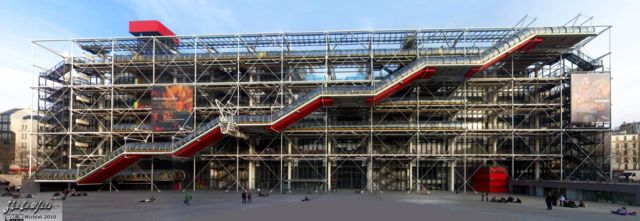 Centre Georges Pompidou panorama Centre Georges Pompidou, Paris, France, Paris 2010,travel, photography,favorites, panoramas