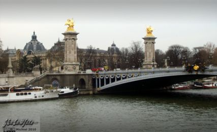 Pont Alexandre III, Grand Palais, Seine river, Paris, France, Paris 2010,travel, photography,favorites