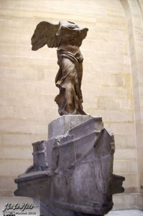 Victory of Samothrace, Louvre, Paris, France, Paris 2010,travel, photography,favorites