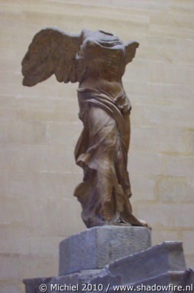 Victory of Samothrace, Louvre, Paris, France, Paris 2010,travel, photography