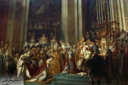 The Coronation of Napoleon, Louvre, Paris, France, Paris 2010,travel, photography,favorites