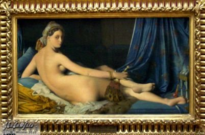 Grande Odalisque, Louvre, Paris, France, Paris 2010,travel, photography,favorites