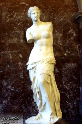 Venus de Milo, Louvre, Paris, France, Paris 2010,travel, photography,favorites
