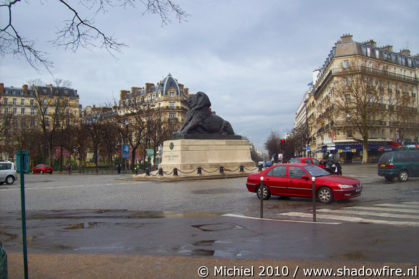 Rochereau, Place Denfert, Paris, France, Paris 2010,travel, photography