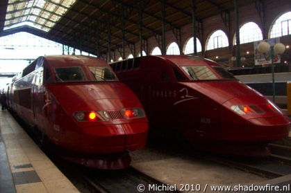 Thalys, Gard du Nord, Paris, France, Paris 2010,travel, photography
