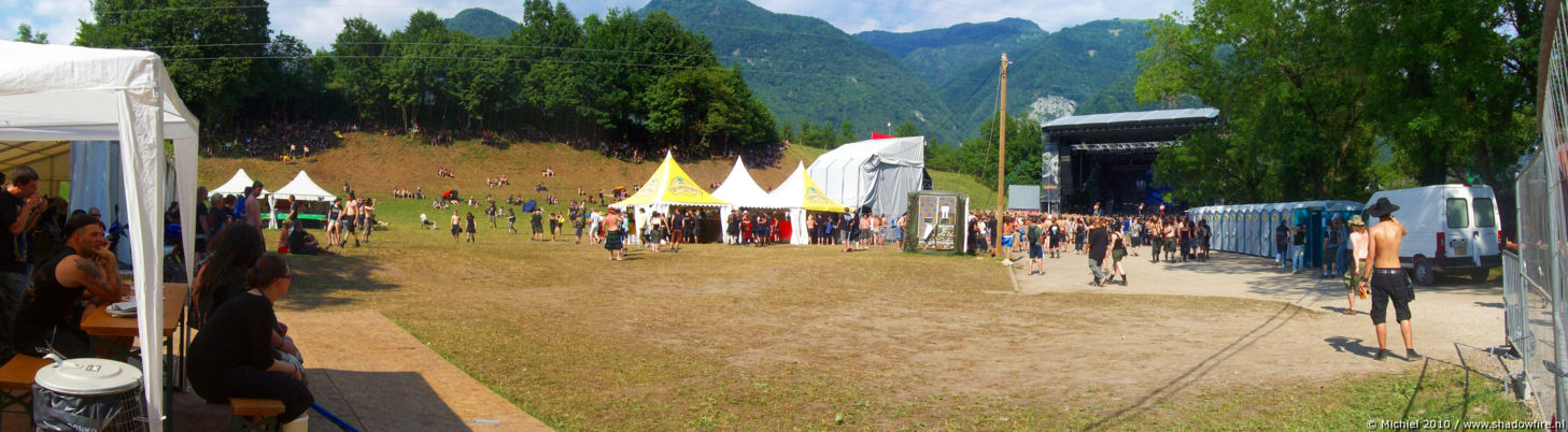 main stage panorama main stage, Metal Camp, Tolmin, Slovenia, Metal Camp and Venice 2010,travel, photography,favorites, panoramas