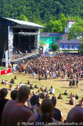 main stage, Metal Camp, Tolmin, Slovenia, Metal Camp and Venice 2010,travel, photography