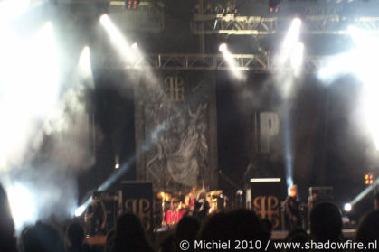 Paradise Lost, main stage, Metal Camp, Tolmin, Slovenia, Metal Camp and Venice 2010,travel, photography