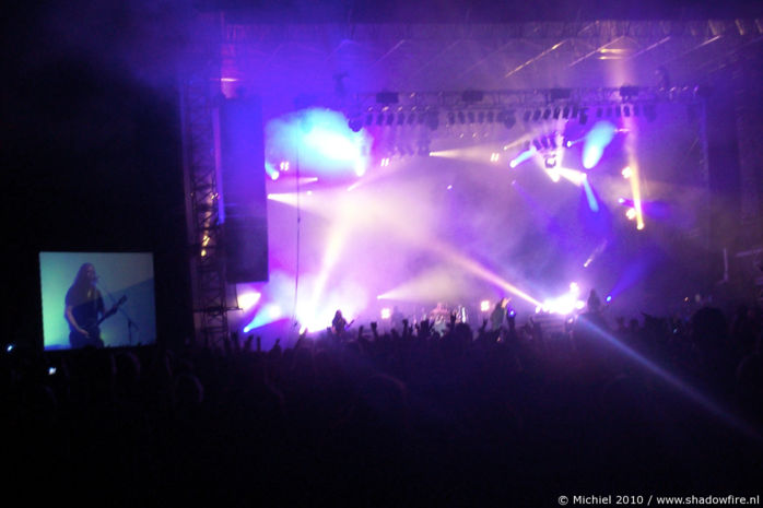 Hammerfall, main stage, Metal Camp, Tolmin, Slovenia, Metal Camp and Venice 2010,travel, photography,favorites