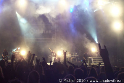 Sabaton, main stage, Metal Camp, Tolmin, Slovenia, Metal Camp and Venice 2010,travel, photography