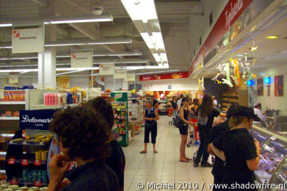supermarket, Metal Camp, Tolmin, Slovenia, Metal Camp and Venice 2010,travel, photography,favorites