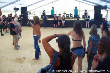 Manowar tent, Metal Camp, Tolmin, Slovenia, Metal Camp and Venice 2010,travel, photography