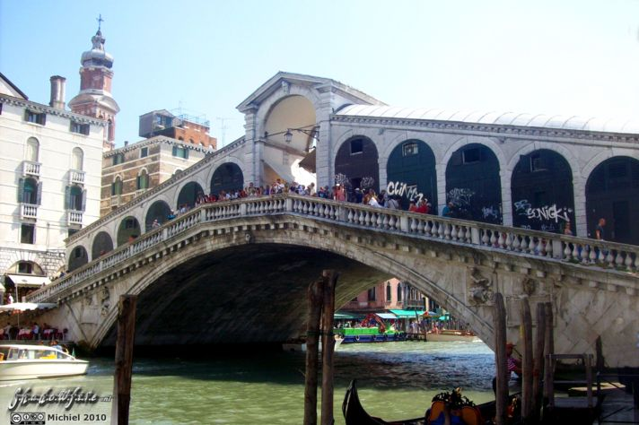 Ponte di Rialto, Canal Grande, San Polo, Venice, Italy, Metal Camp and Venice 2010,travel, photography,favorites