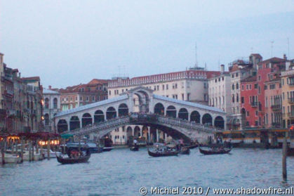 Ponte di Rialto, Canal Grande, San Marco, Venice, Italy, Metal Camp and Venice 2010,travel, photography